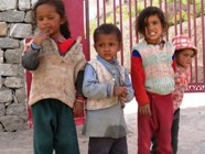 Kids in Ladakh